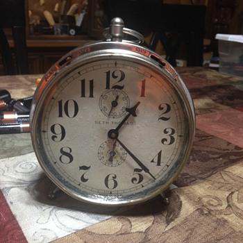 Seth Thomas  Early Alarm Clock - Clocks