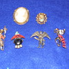 People and Cameos Lot of Pins and Brooches