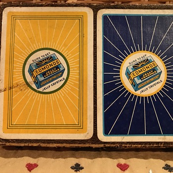 Playing card decks from around the world - Advertising