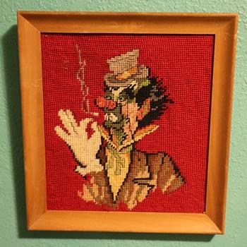 Reefer-smoking Clown?!! - Fine Art