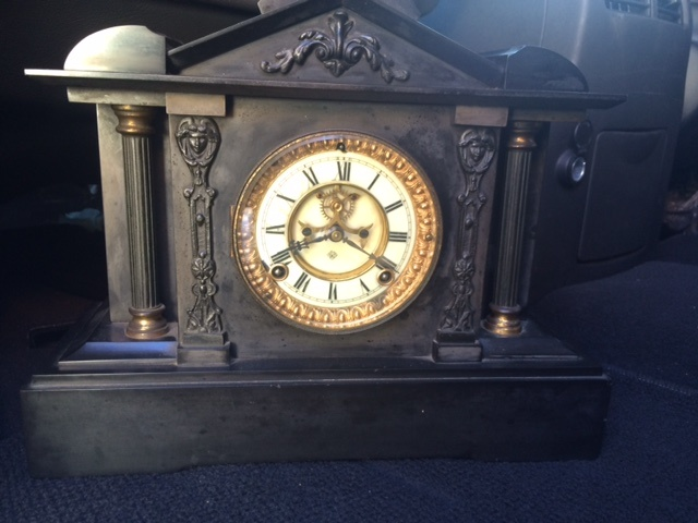 Ansonia Mantle Clock model Collectors Weekly
