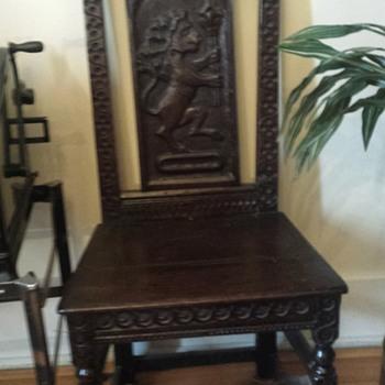 Jacobean Chair - Furniture
