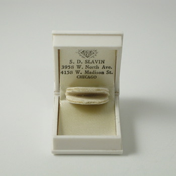 Book Ring Box With 2 Store Addresses - Fine Jewelry
