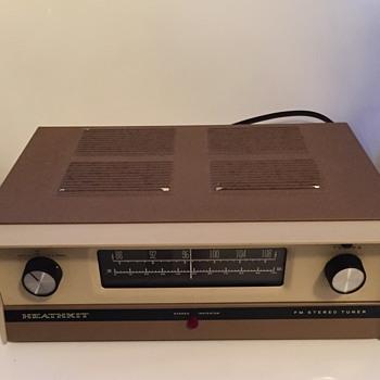 Heathkit FM Stereo tuner.