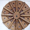antique washing machine agitator clock