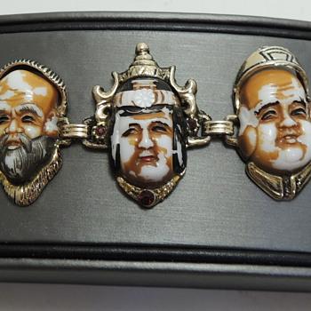 Bracelet and Earring Set - SELRO SELINI - Costume Jewelry