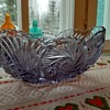 """Chigaco"" boat bowl from Riihimäki glasworks."