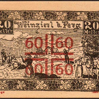 Austria - (20) Heller - Emergency Note - 1921