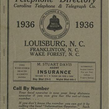 Carolina Telephone - Telephones