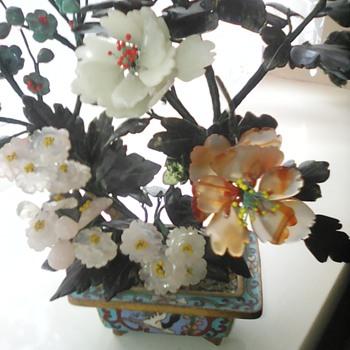 My cloisonne bonsi tree - Asian