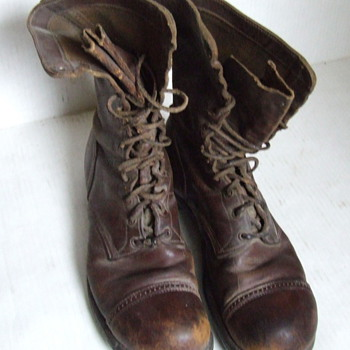 Mystery pair of  U.S. Army military boots, WW II?