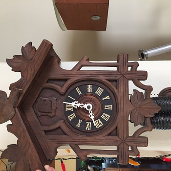 G.K. Gebrunder Kuner cuckoo clock 1910  - Clocks