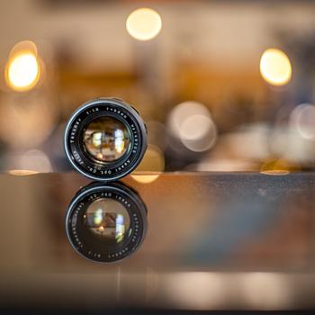 Rare 1958 Takumar 55mm f1.8 M42 Preset Lens - Cameras