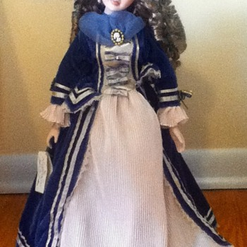 Felicity Porcelain Doll - Dolls