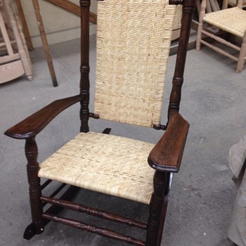 The famous Southern Brumby Rocking Chair