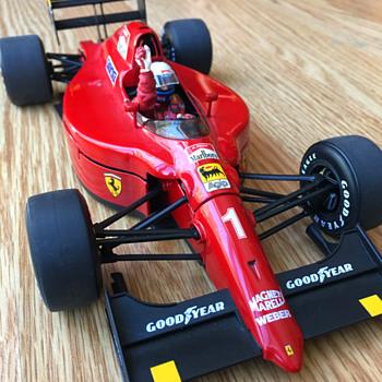 Exoto Ferrari 641/2, Alain Prost, Ferrari's 100th Victory, 1/18 scale - Model Cars