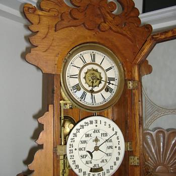 Calender  Clock Mystery - Clocks