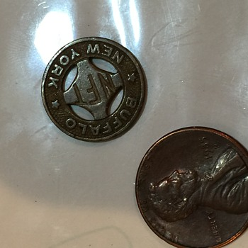 "Buffalo, New York NFT ""one city fare"" token - US Coins"