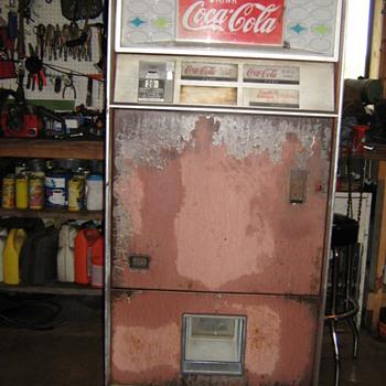 Star Series(early/mid 60s) Vendo - Coca-Cola