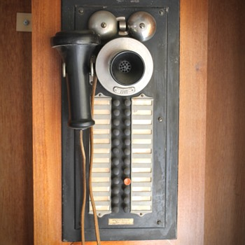 Western Electric VERY RARE Inter-Phone and Western Electric Railroad Phone