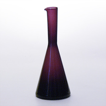 Purple jug, Kjell Blömberg (Gullaskruf, 1950s) - Art Glass