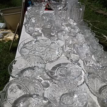 Lead crystal pieces