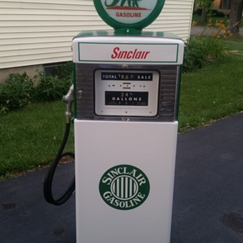 Wayne 505 Sinclair Gas Pump - Petroliana