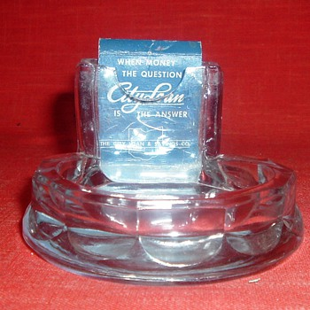 The Diamond Match Co. Ashtray - Tobacciana