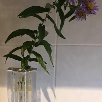 Walther Kristallglas vase. - Art Glass
