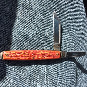 Old folding knife.