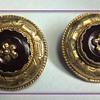Rare Victorian yellow gold (14K) Amethyst pin board