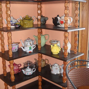 Mom's teapot collection - China and Dinnerware