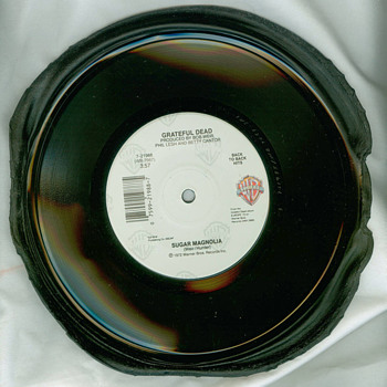 "RARE GRATEFUL DEAD PROCESS TEST PRESSING 7"" 45."