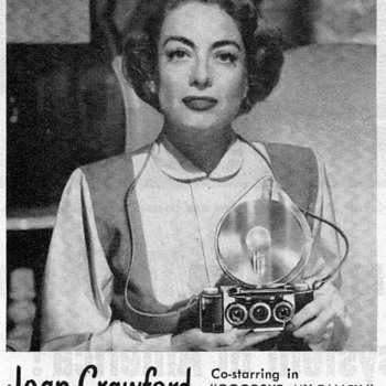 1951 - Joan Crawford for Realist Cameras - Advertisement - Advertising
