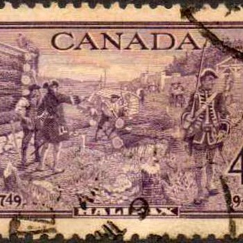 "1949 - Canada ""Halifax"" Postage Stamp"
