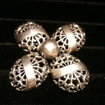Sterling Silver Cini Brooch - Fine Jewelry