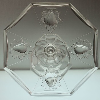 """Gipsy"" Cake Stand by Adams and Company c1891 - Glassware"