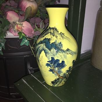 Pretty vase  - Asian