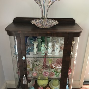 A revamped cabinet... - Art Glass