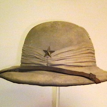 WW II Japanese Officer Sun Helmet