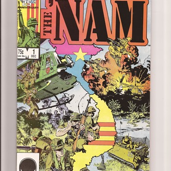 Mike Golden The Nam - Comic Books