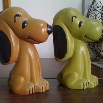Vintage Snoopy bank- does anyone have info?