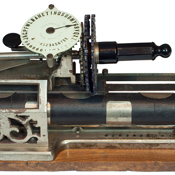 Columbia 1 typewriter - 1885