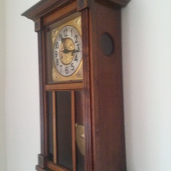 """Gloria"" Grandmother Clock from Germany early 1960s - Clocks"