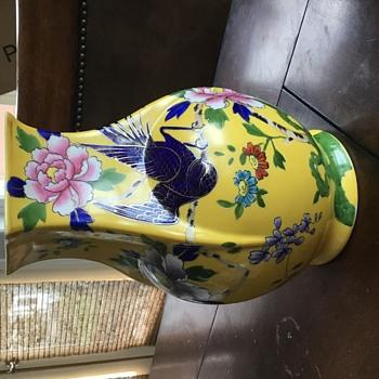 Noritake vase round bottom