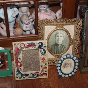 The Reposing Members of My Recently Acquired Photo Frames - Fine Art