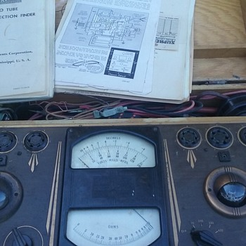 Antique tube tester - Electronics