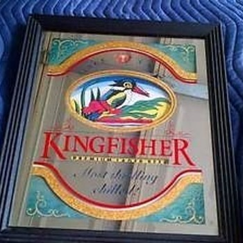 Kingfisher mirror - Advertising