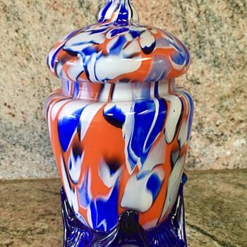 Franz Welz - Zebra canes - Art Glass