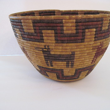 Can you Assist with Age?  Design on Basket? - Native American